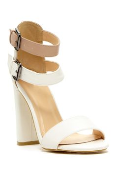 A lovely pair of white(ish) sandals for the summer