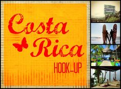 Costa Rica Hook-Up - free business listings through May for surf, yoga, tours/operators and sport fishing in Costa Rica.