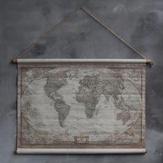 Wereld landkaart