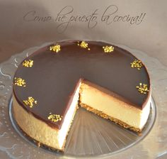 mousse-de-dulce-de-leche-thermomix Thermomix Bread, Thermomix Desserts, Dessert Recipes, Chesee Cake, Different Kinds Of Cakes, Le Pilates, Yummy Cakes, Cooking Time, Amazing Cakes