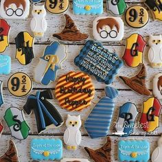 Ravenclaw Harry Potter cookie