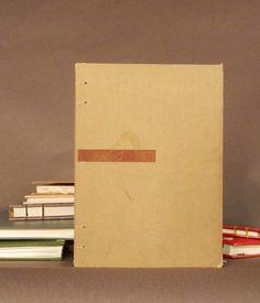 Greek Horse Coptic Bound Notebook Sketchbook Journal Scrapbook. $22.00, via Etsy.