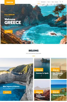 Download and try - Tripster - Travel Agency Modern Elementor WordPress Theme #trip #travel #picnic #travelblog #travelagency #wordpress People Around The World, Around The Worlds, Wordpress Template, Best Wordpress Themes, Travel Agency, Day Tours, Greece, Picnic, Spain