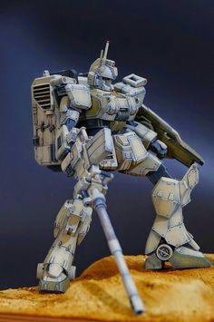 "Custom Build: HGUC 1/144 Gundam Ez8 ""TsuyoSo-gata"" - Gundam Kits Collection News and Reviews"