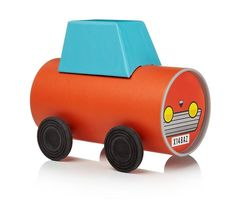 Make Your Own Tube Vehicle The coolest make your own vehicle kit! If there is one type of toy continually popular with little boys it's vehicles. Playing with toy vehicles never seems to go out of fashion with youngsters, these fantastic make your own toy kits from London based designer Oscar Diaz are the coolest eco friendly toys we've seen. Created from their own tubular packaging, each toy can become a train, car or tractor. All of the components can be found inside the tube, which…