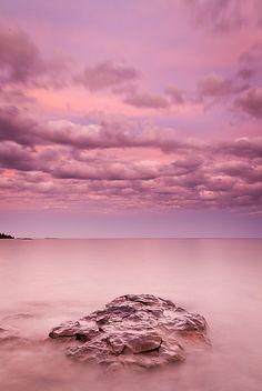 Lake Superior near Grand Marais, Minnesota