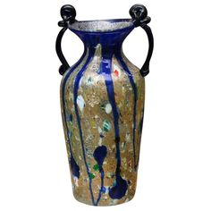 Shop vases at Chairish, the design lover's marketplace for the best vintage and used furniture, decor and art. Murano Glass Vase, Venetian Glass, Vases Decor, Antiques, Decorative Vases, Vintage, Design, Beads, Glass