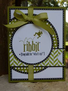 Ribbit Mojo by junior tx - Cards and Paper Crafts at Splitcoaststampers