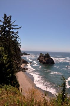 Pacific Coast, Oregon