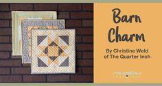 Barn Charm Mini Quilts