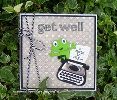 Handmade by Marleen: Get Well