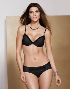 $49.95  Elegant luxury romantic bra set with soft padding. Sheer lace panty. Cup B