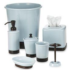 45 best splish splash bathroom ideas images on pinterest bathroom york blue chocolate bath ensemble combining vintage style with trendy colors this bath ensemble features aloadofball Choice Image