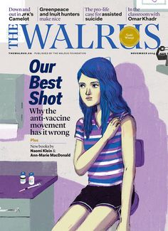 Cover Illustration by Byron Eggenschwiler for The Walrus November 2014
