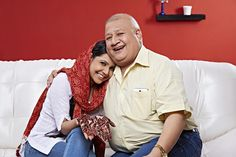 Father hugging his daughter and smiling 20 Years, Father, Daughter, India, Stock Photos, Couple Photos, Image, Couple Pics, Delhi India