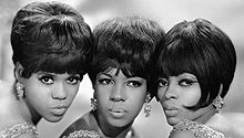 The Supremes  L-R: Florence Ballard (1943-1976)  Mary Wilson (1944-)  Diana Ross (1944-)