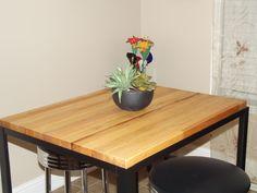 Custom Minimalist Industrial Table