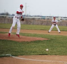 Zach Carey was the losing pitcher vs West Jefferson, but pitched a complete game, striking out 9.