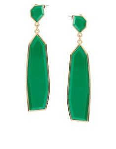 Lately I've been in love with all things art deco. These ASOS deco drop earrings are divine.