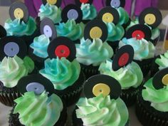 Disco Cupcakes by sofisticake - Gillian, via Flickr