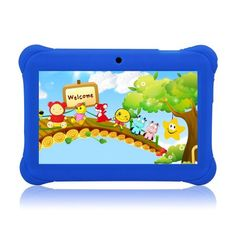 """Tagital® 7"""" T7K Quad Core Android Kids Tablet, with Wifi and Camera and Games, HD Kids Edition with Kid Mode Pre-Installed"""