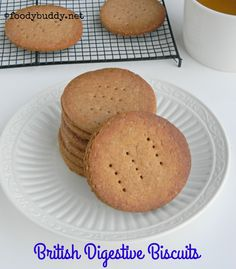 Easy Digestive Biscuits Recipe (Homemade) / Eggless Biscuit Recipe is a crunchy, tasty biscuit tastes close to Mc vitie's biscuit..