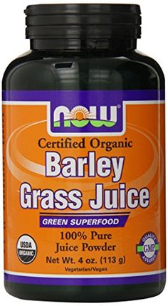 Now Foods Organic Barley Grass Juice Powder 4Ounce * Want additional info? Click on the image.