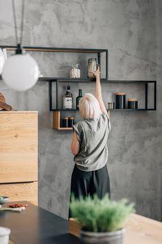 Led Spots, Kitchen Sets, Küchen Design, Flat Screen, Desk, Wood, Interior, Furniture, Home Decor