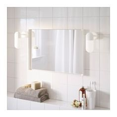 IKEA - ENUDDEN, Mirror, , The mirror comes with safety film on the back, which reduces the risk of injury if the glass is broken.