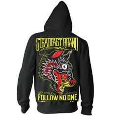 Men's Jason Kelly and Palehorse Design Follow No One Hoodie by Steadfast Brand