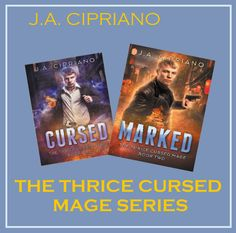 Cover Reveal: Marked (The Thrice Cursed Mage) (Volume 2)