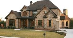 Luxury European Style Homes - traditional - exterior - atlanta - Alex Custom Homes, LLC