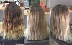 From drab to fab blonde balayage make over