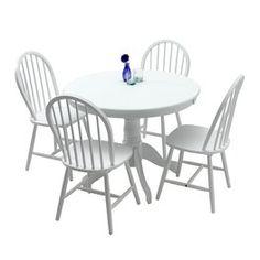 Tafel ASKEBY + 4 stoelen ASKEBY