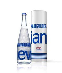 Water Just got more Fashionable: Jean Paul Gaultier for Evian