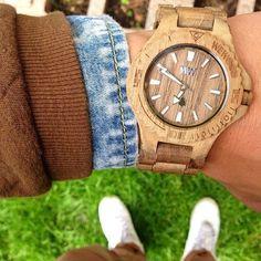 Wooden watch!