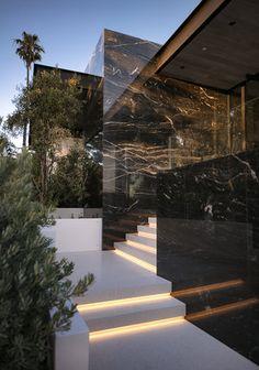 Los Angeles Home Home Room Design, Dream Home Design, My Dream Home, Design Homes, Dream House Interior, Luxury Homes Dream Houses, Modern Exterior, Exterior Design, Modern Architecture House