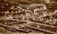 Aerial view of Rothesay, 1921.