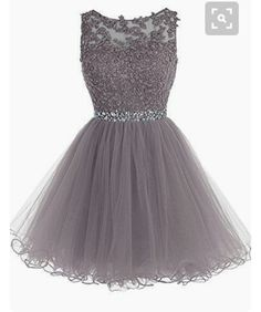 Sexy Prom Dress,Tulle Prom Dress,Short Homecoming Dress,Prom Gown - - Vestidos 🙂 Marce Source by Semi Dresses, Hoco Dresses, Pretty Dresses, Dress Outfits, Beautiful Dresses, Evening Dresses, Grey Short Dresses, Semi Formal Dresses For Teens, Cute Formal Dresses