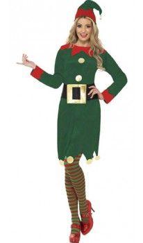Disfraz de Elfa Hebilla para mujer