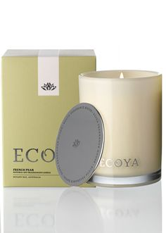 Ecoya French Pear Madison Jar Candle - apparently this is a really nice one too..wanna try!