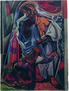 Noli me Tangere (Touch me not)  Roy de Maistre (1894-1968)