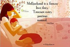 Motherhood is a forever love story❤️❤️