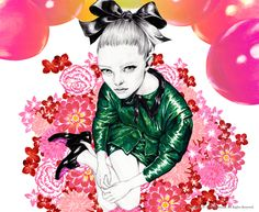 Mina Kim fashion illustration Mina Kim based in... | Fashionary Hand #poses