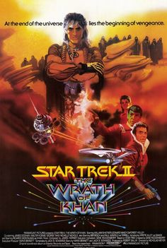 Movie Poster Shop Presents 100 Best Selling Movie Posters - Star Trek 2: The Wrath of Khan (1982)