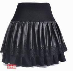 Cheap Sra PU falda de cuero más flexible falda plisada, Compro Calidad Faldas directamente de los surtidores de China: tamaño cm cintura cadera cm de longituds 60---- 70 80-- 88 45m 71------ 76 89---- 95 45l 77---- 82 96--- 100 45xl 83----