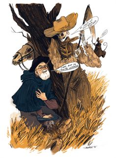 Part of my inspiration died with Pratchett recently, I owe him TOO MUCH. In capital letters too. Thanks Terry.