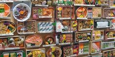 """At ekiben shop """"Matsuri (Festival)"""" within Tokyo Station, over 170 different types of ekiben are displayed for sale each day. Customers include not only travelers but also workers picking up dinner on their way home. The shop can sell as many as 20,000 ekiben in a day."""
