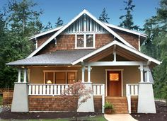 Love the Arts & Crafts bungalow style homes!