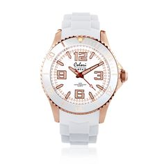 #Colori Watch - Amazing Rose - Colori watches are beautifully designed and inspired by seasonal colours and fashion trends. Comfortable silicone straps combined with high precision Japanese quartz movement guarantee an uncomplicated pleasure.